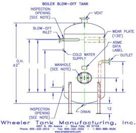 boiler-blow-off-tank