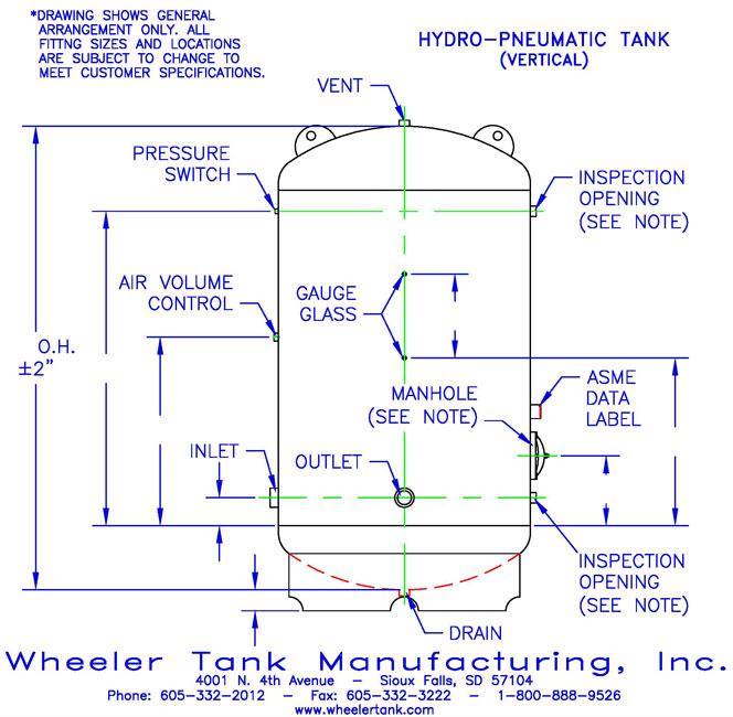 hydropneumatic-tank-vertical
